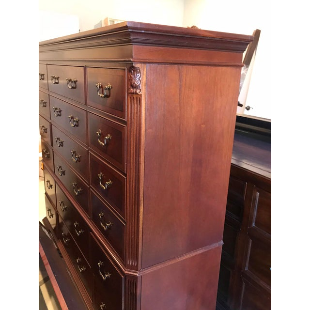 Ethan Allen 18-Drawer Chest - Image 5 of 9