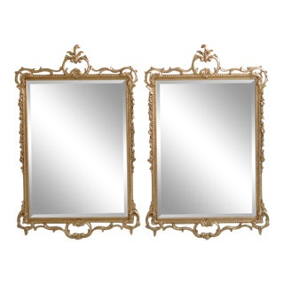 Friedman Brothers Model #5739 Gold Gilt Mirrors - a Pair For Sale