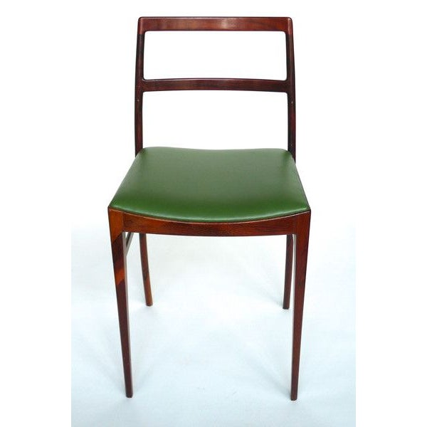 Brazilian Rosewood Stools - A Pair - Image 2 of 2