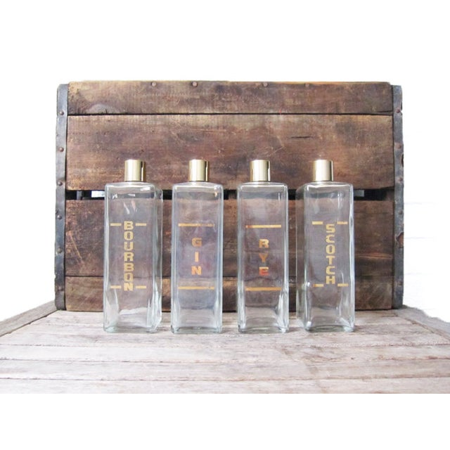 Vintage Mid-Century Liquor Decanters - Set of 4 - Image 3 of 6