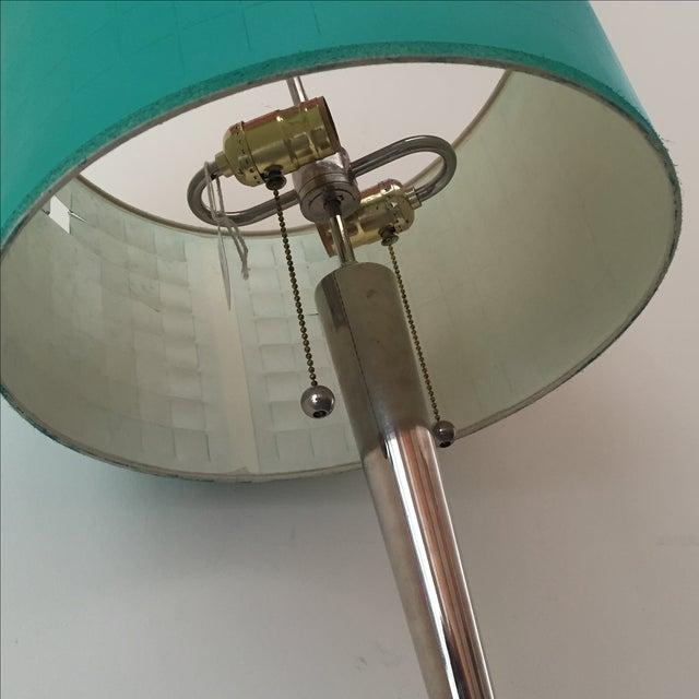 Mid-Century Chrome Floor Lamp - Image 4 of 5