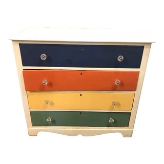20th Century Americana Children's Chest of Drawers For Sale
