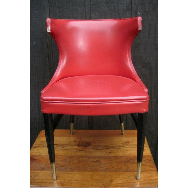 The Er Says Mid Century Modern Wing Back Chairs Made By Bianco Manufacturing Co