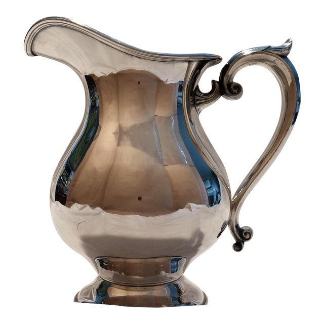 Antique Silver Pitcher by Sheffield Early 1900's - Image 1 of 10