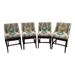 Ballard Designs Marcello Stools - Set of 4 For Sale