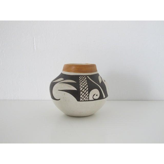 Acoma Native American Bud Vase - Image 4 of 5