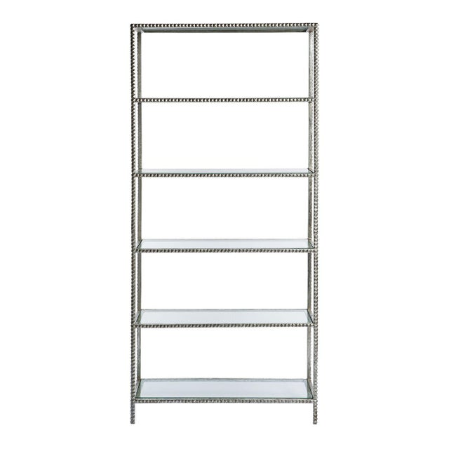 Emporium Home Silver Stud Etagere - Image 2 of 2