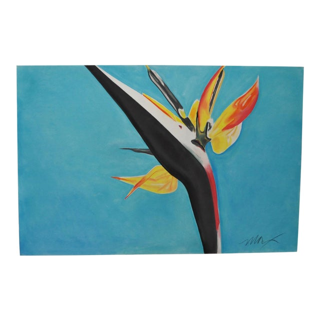 Bird of Paradise Pastel Painting by Max - Image 1 of 4