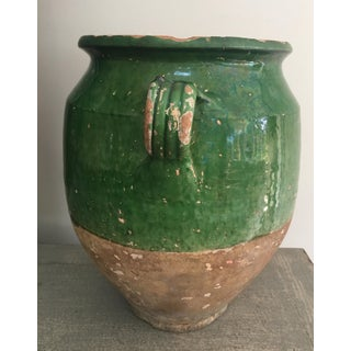 19th Century French Green Glazed Confit Pot Preview
