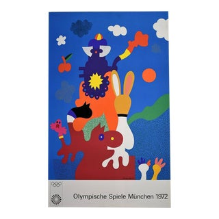 Otmar Alt, Munich Olympic Games, 1972