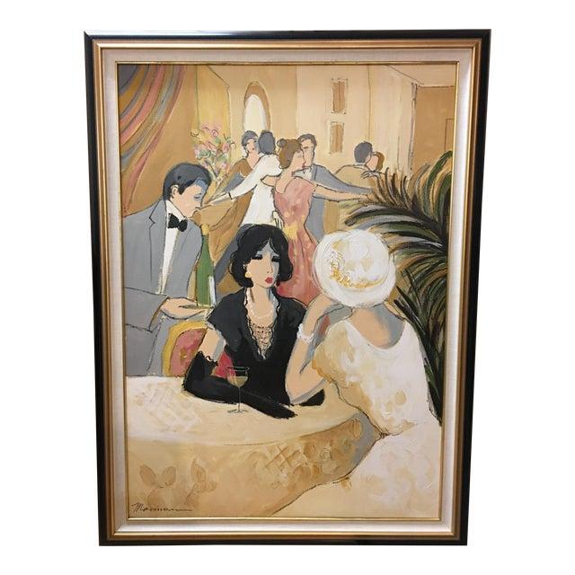"Original ""Vintage Wine"" Painting by Isaac Maimon - Image 1 of 11"