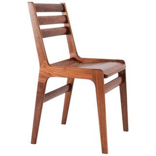 Asa Pingree Fenelon Wood Chair in American Walnut For Sale