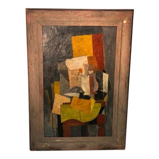 Unknown Cubist Modern Painting For Sale
