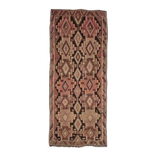 Vintage Turkish Kars Kilim Rug For Sale