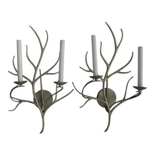 Visual Comfort E.F. Chapman Branch Sconces - A Pair For Sale