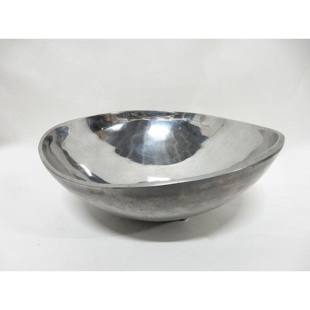 Bruce Fox Design Aluminum Bowl - Image 4 of 7