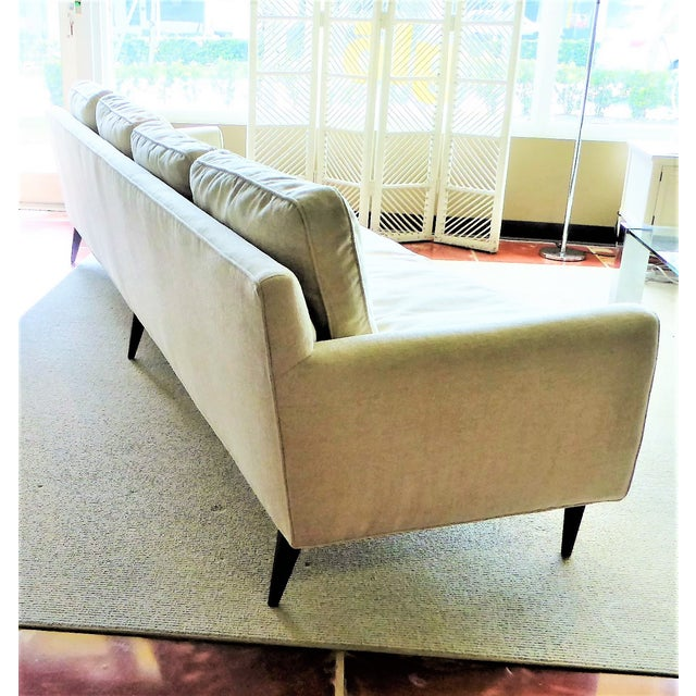 Mid-Century Modern Gio Ponti Bespoke Mid-Century Sofa by Singer & Sons, 1957 For Sale - Image 3 of 12
