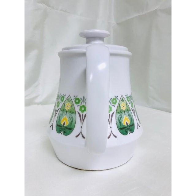 Noritake Vintage Noritake Progression Palos Verde Teapot For Sale - Image 4 of 9