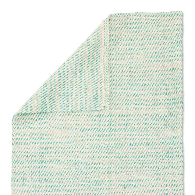 Jaipur Living Almand Natural White/ Aqua Area Rug - 9′ × 12′ For Sale - Image 4 of 6