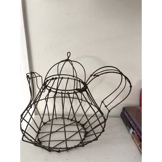 French Antique Wire Teapot Preview
