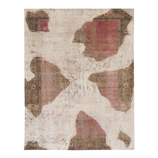 Mid-20th Century Overdyed Rug For Sale