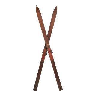 Circa 1930s Viking Skis / Pair For Sale