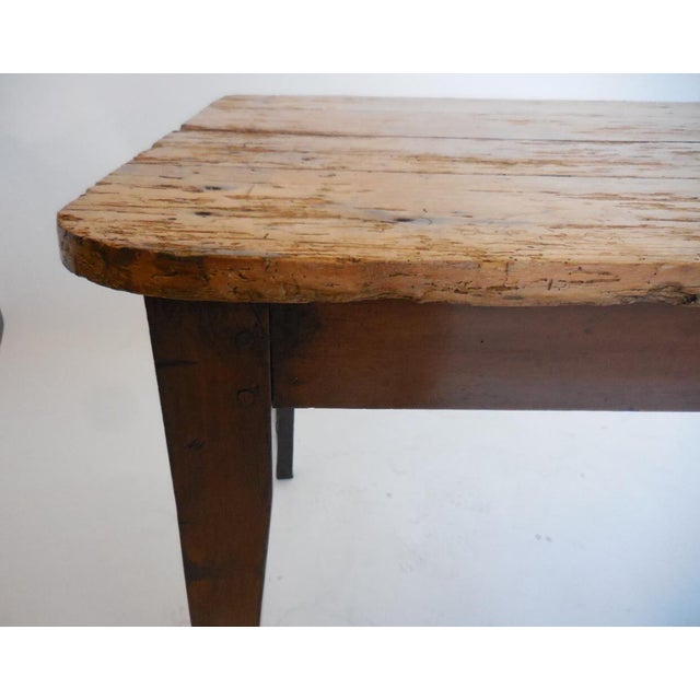 Mid 19th Century 19th Century Pine Table For Sale - Image 5 of 8