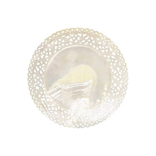 Antique Mother-Of-Pearl Caviar Plate For Sale