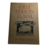 Image of First Person Rural Book by Noel Perrin For Sale