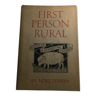 First Person Rural Book by Noel Perrin For Sale