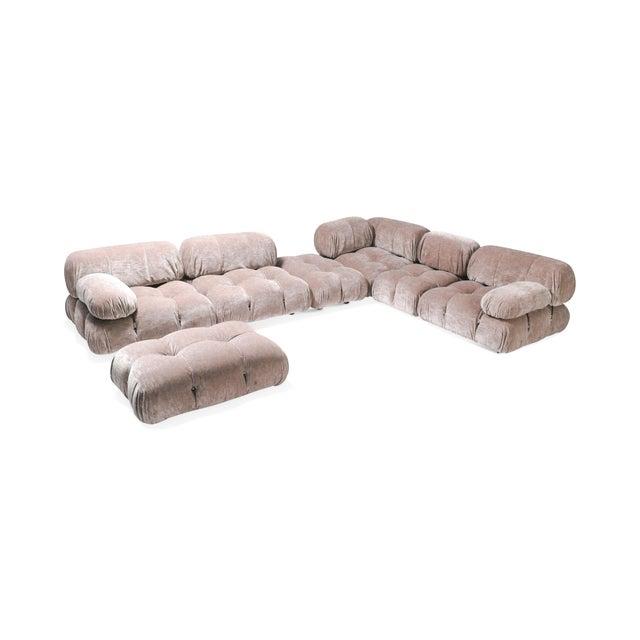Italian Nude Colored Modular Sofa by Mario Bellini 'Camaleonda' For Sale - Image 3 of 5