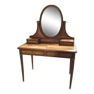 1930s French Art Deco Dressing Table For Sale