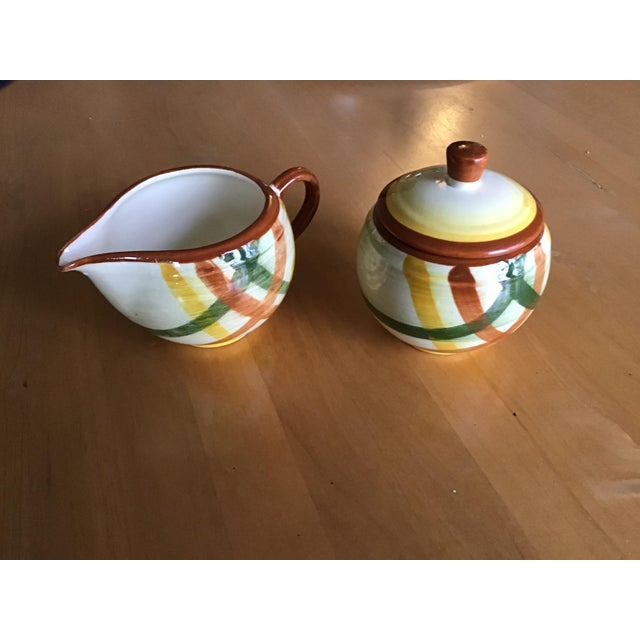 Vernonware is pottery dinnerware made by Vernon Kilns in California from the 1930's through the 1950's. Homespun is a...
