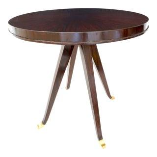 Vintage Lucien Rollin for Switzer Center Table Art Deco Revival For Sale