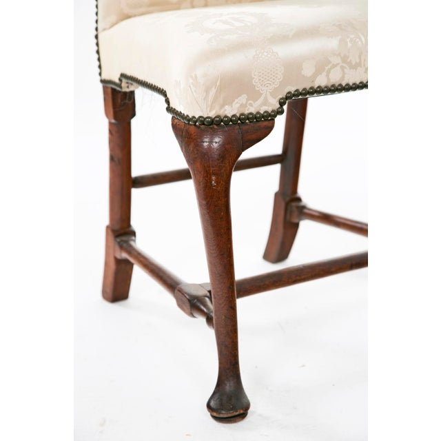George I period side chair in walnut. Should one like a pair, we have another almost identical example available as well.