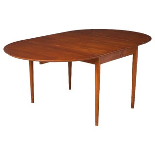 1960s Arne Vodder for Sibast Expandable Dining Table For Sale