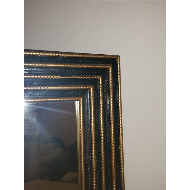 1940s Black & Gold Turner Mirror - Image 4 of 4