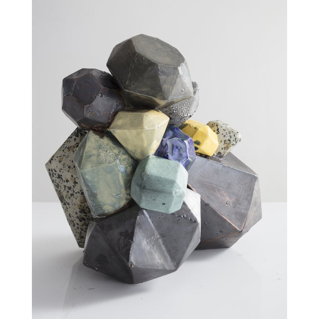 Kelly Lamb Gem Cluster from the Cluster Series For Sale - Image 4 of 6