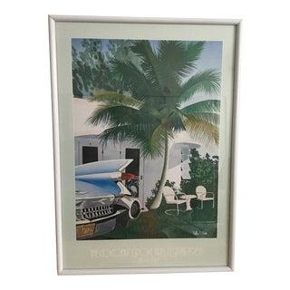1985 Coconut Grove Vintage Poster For Sale