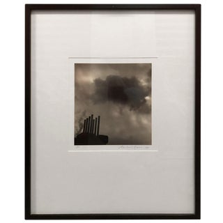 1950s Vintage Smoke Stacks Photographic Print For Sale