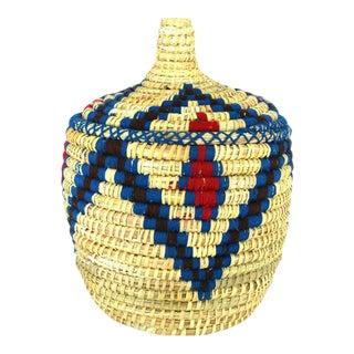 Large Vintage Town Berber Basket