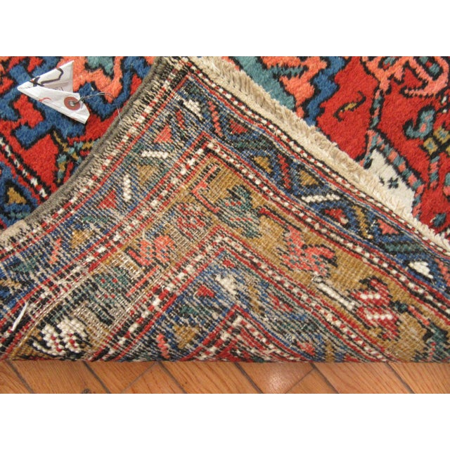 Surena Rugs Antique Handmade Persian Runner - 3' 2'' x 11' 2'' For Sale - Image 5 of 6