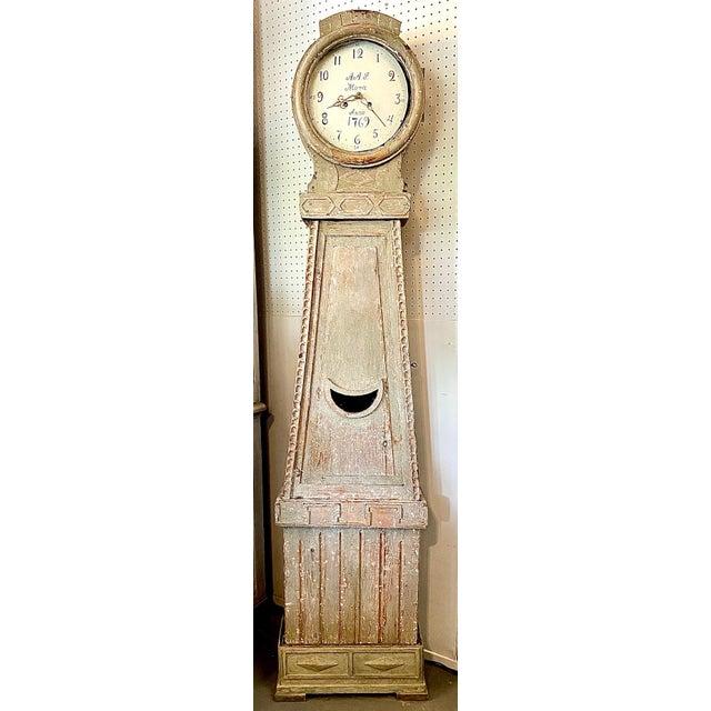 18th. C. Swedish Gustavian Mora Clock For Sale - Image 13 of 13