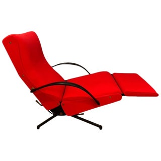 P40 Upholstered Lounge Chair by Osvaldo Borsani for Tecno For Sale