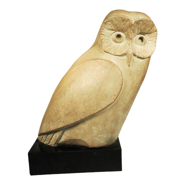 Vintage Mid-Century Austin Productions Owl Sculpture - Image 1 of 6