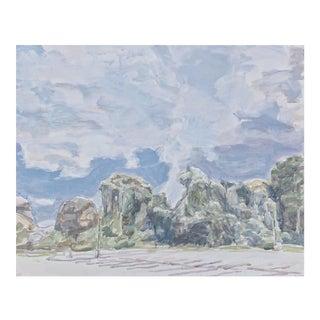 Kudzu Series 12 Landscape Series by Daniel Kelly For Sale