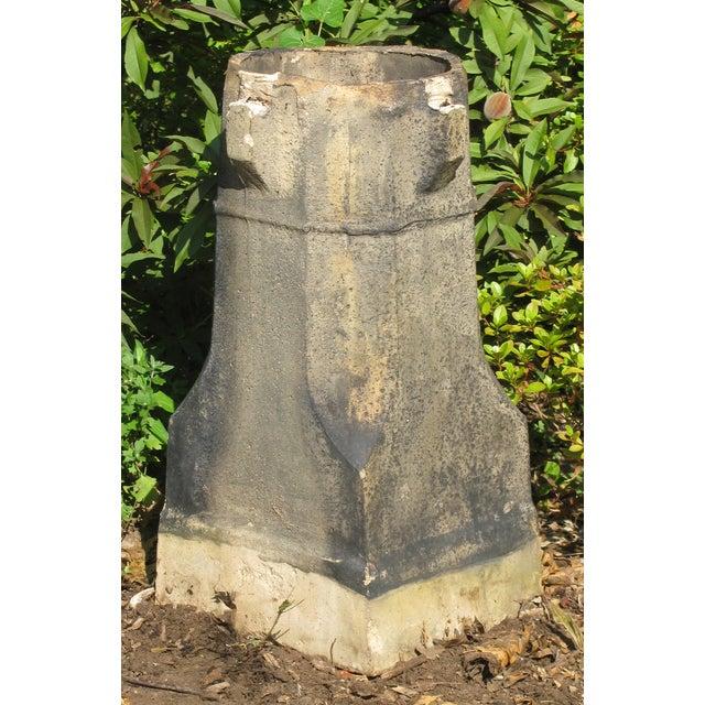 English Glazed Terracotta Chimney Pot - Image 3 of 5