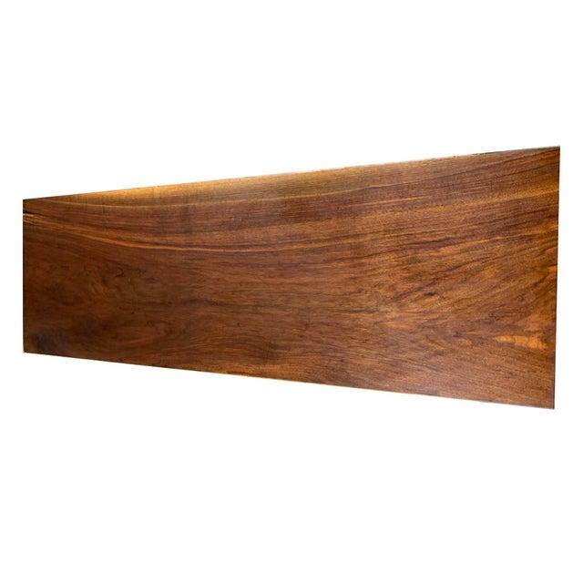 Wood George Nakashima Conoid Writing Desk For Sale - Image 7 of 8