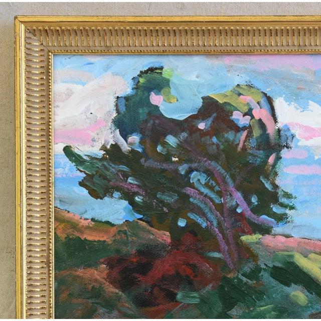 Abstract Juan Guzman Santa Barbara Coast Seascape Landscape Oil Painting For Sale - Image 3 of 9
