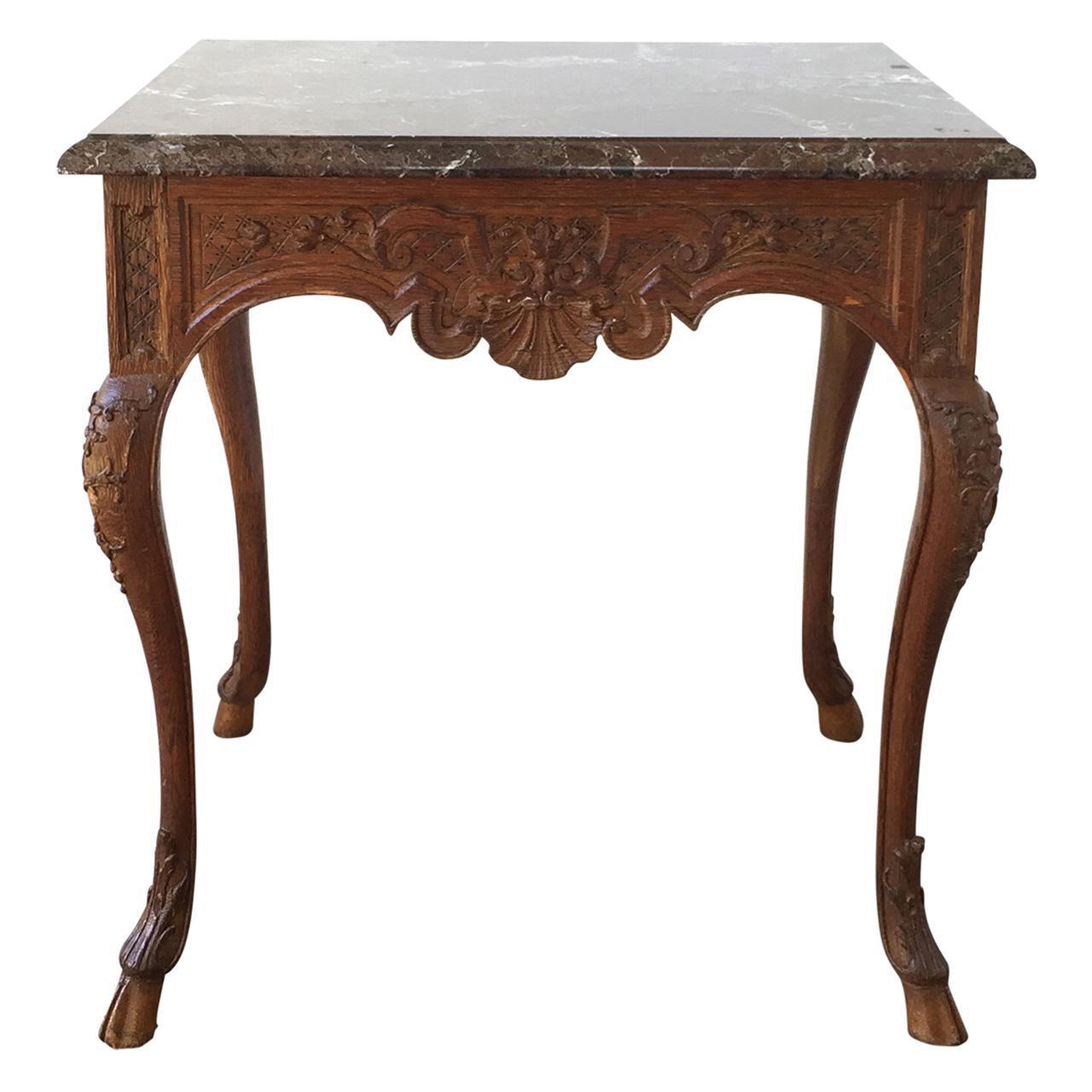 Vintage Used Marble Side Tables Chairish